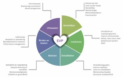 EVP en de HR-cyclus